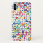 "Apple iPhone X CaseMate Case Watercolor Paint Drop<br><div class=""desc"">Here&#39;s a colorful paint splatter case for your new iPhone X. This is a fun watercolor look that compliments the &quot;Apple white&quot; design aesthetic. This design is also available on the brand new Apple Watch band. Find it in my store, ""Honey8ees"". Available in three great CaseMate styles: ""Barely There"" ""Tough&quot;...</div>"