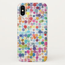 Apple iPhone X CaseMate Case Watercolor Paint Drop