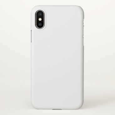 Apple iPhone X Matte Case