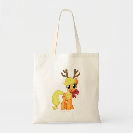 Apple Jack Reindeer Tote Bags