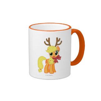 Apple Jack Reindeer Coffee Mugs