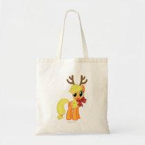 Apple Jack Reindeer Tote Bag
