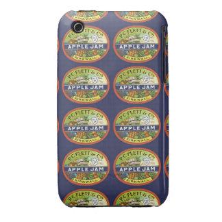 Apple Jam Label iPhone 3 Cases