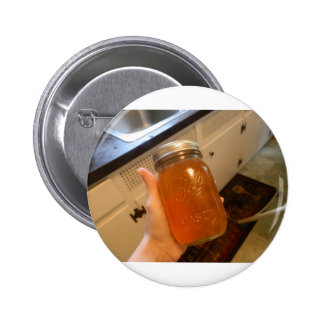 Apple Jelly Canning Jar Pinback Button