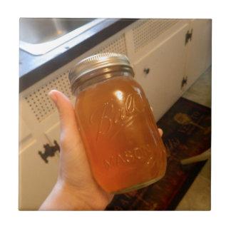 Apple Jelly Canning Jar Tile