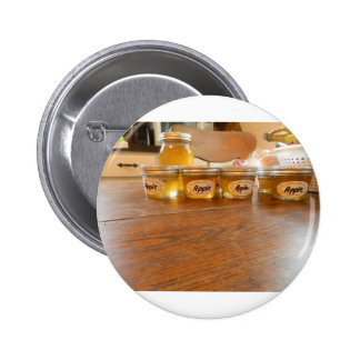 Apple Jelly Canning Photography 2 Inch Round Button