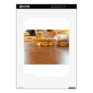 Apple Jelly Canning Photography Decals For The iPad 2