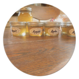 Apple Jelly Canning Photography Dinner Plate