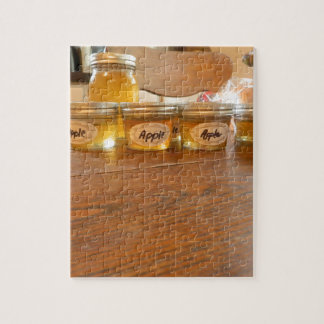 Apple Jelly Canning Photography Jigsaw Puzzle