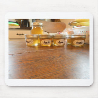 Apple Jelly Canning Photography Mouse Pad