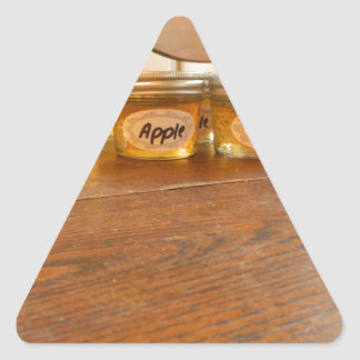 Apple Jelly Canning Photography Triangle Sticker