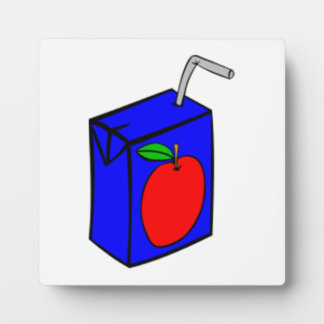 Apple Juice Box Photo Plaque