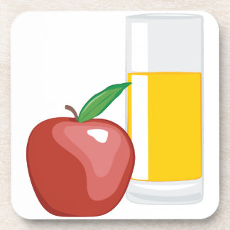 Apple Juice Drink Coaster