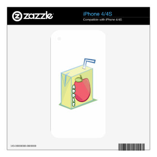Apple Juice Skin For The iPhone 4S
