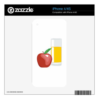 Apple Juice Skin For iPhone 4