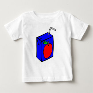 Apple juice with straw baby T-Shirt