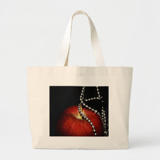 Apple Jumbo Tote Bag