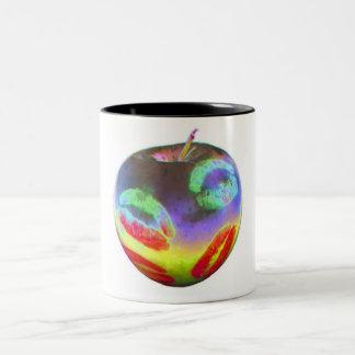 Apple KissColor, Two-Tone Coffee Mug