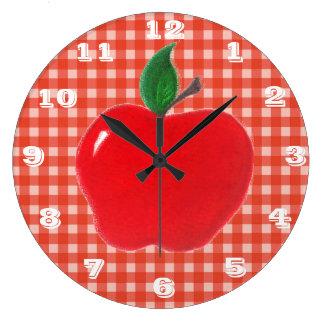 Apple - Kitchen Clock