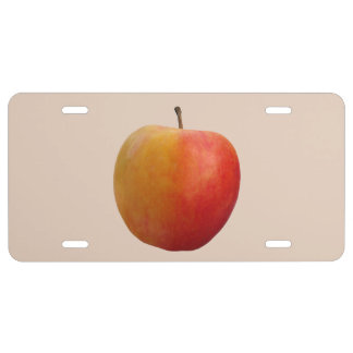 Apple License Plate