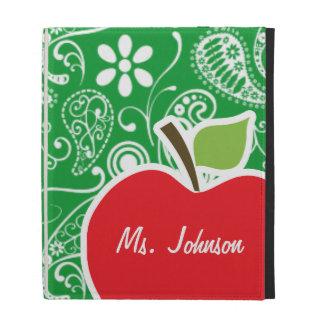 Apple lindo en Kelly Paisley verde