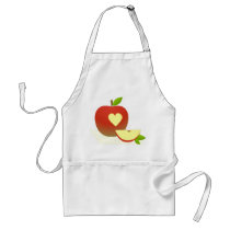 Apple Love Adult Apron