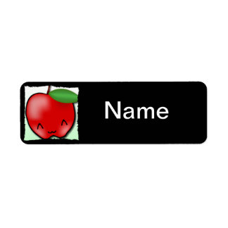 Apple Love Label