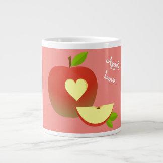 Apple Love Large Coffee Mug
