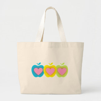 Apple Lover A1 Large Tote Bag