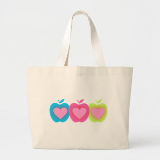 Apple Lover A2 Large Tote Bag