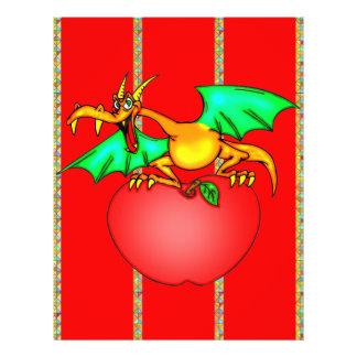 Apple Loving Dragon Flyer