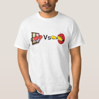 Apple Mac Vs Microsoft Windows Boxing Match Tee Shirt