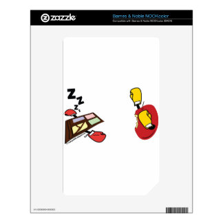 Apple Mac wins against Microsoft Windows Boxing NOOK Color Decal