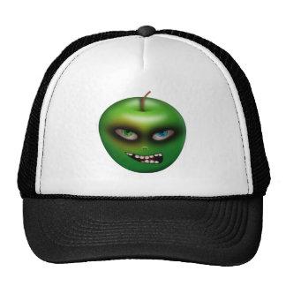{Apple malvado} gorra blanco/negro