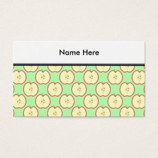 Apple modela tarjetas de visita