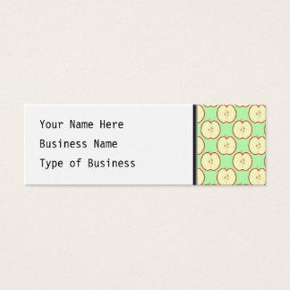 Apple modela tarjetas de visita mini
