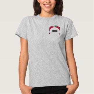 Apple Monogram Embroidered Shirt