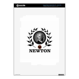 apple newton art skin for iPad 3