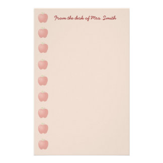 Apple Note Paper Stationery