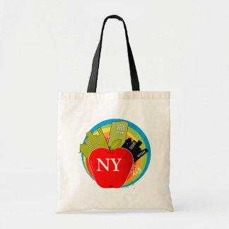 Apple - Nueva York grandes Bolsas De Mano