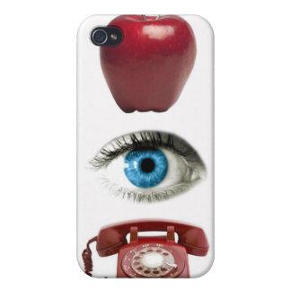 APPLE OBSERVA el caso del iPhone del TELÉFONO iPhone 4 Carcasas