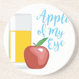 Apple Of Eye Sandstone Coaster