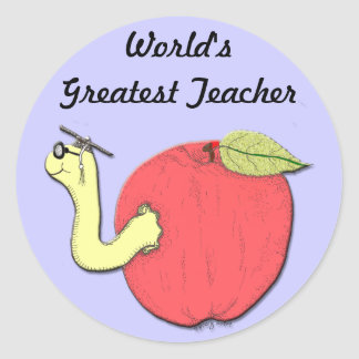 Apple of Knowledge Sticker