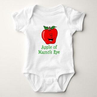 Apple of Mamo's Eye Baby Bodysuit