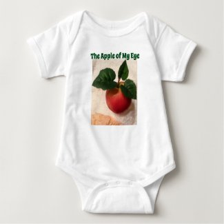 Apple of My Eye Baby Jersey Bodysuit