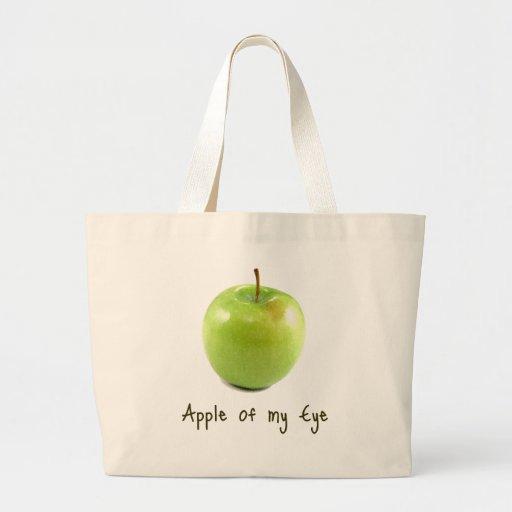 Apple of my Eye Jumbo Tote Bag