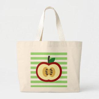 Apple of My Eye Large Tote Bag