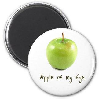 Apple of my Eye 2 Inch Round Magnet