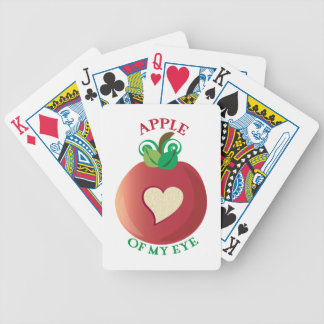 Apple Of My Eye Bicycle Playing Cards