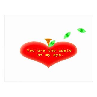 Apple of my Eye Postcard